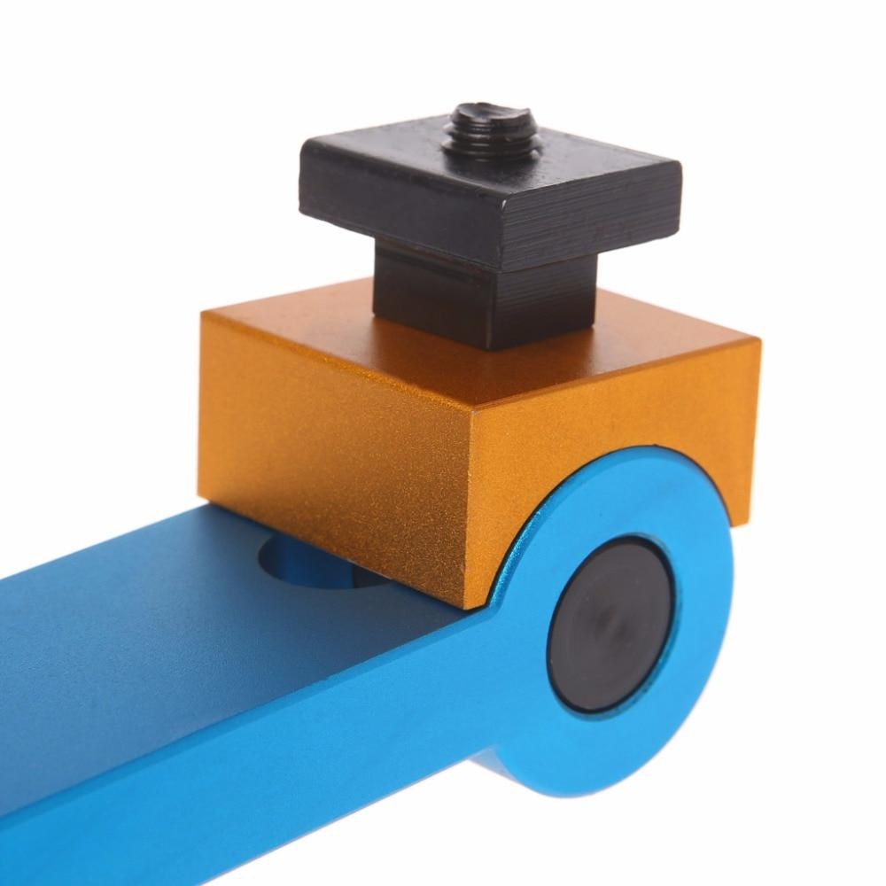 Купить с кэшбэком Adjustable Aluminum Alloy CNC Mill Machines Work Stop Locator Tool Part Workpiece New