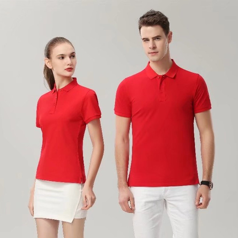 2019 new Man woman universal golf Run Fitness Volleyball golf training clothing sports stripes short sleeve tops Polo 7988