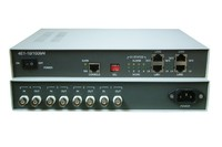 LAN bridge on existing e1 based networking 4e1 to 4 port ethernet protocol converter