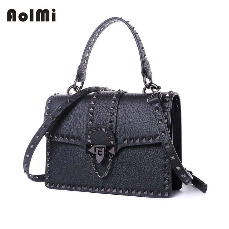 05e7fa707600 AolMi Vintage Tote Genuine Leather Női Designer Crossbody Messenger ...