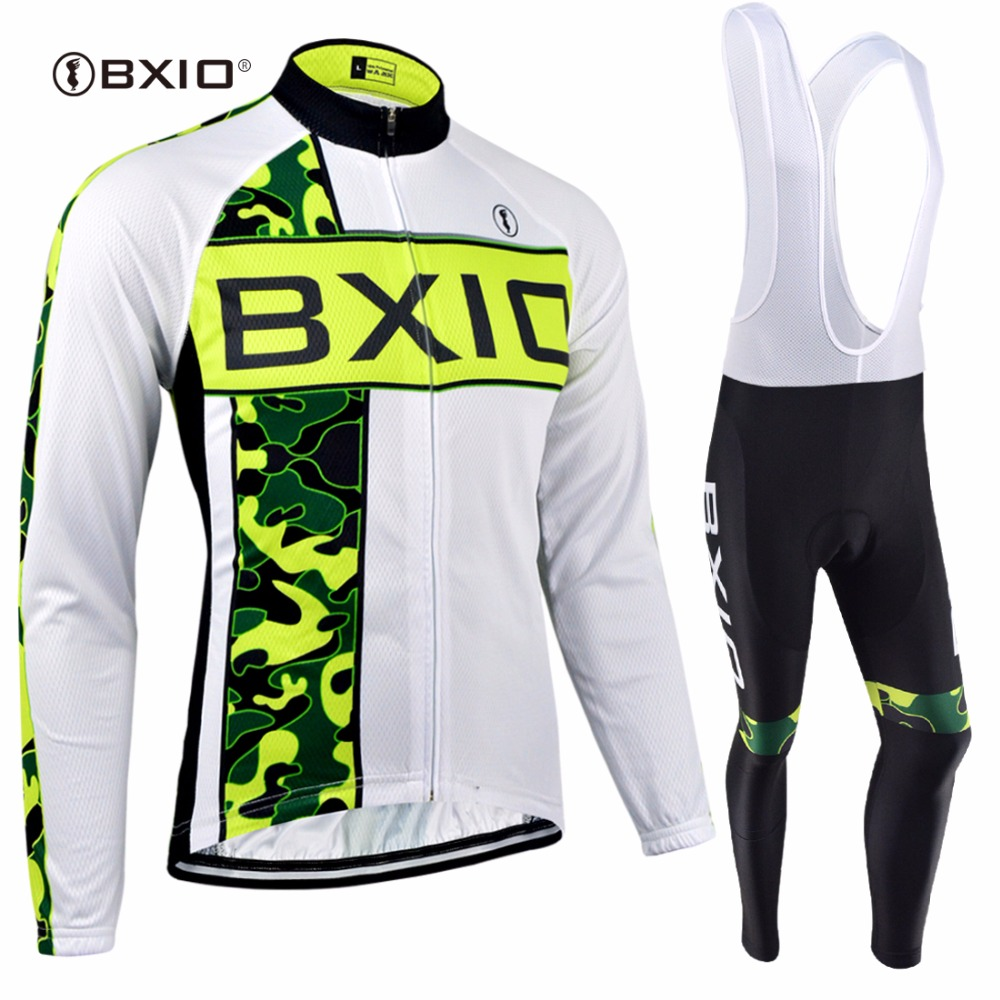 BXIO Winter Cycling Jersey Top Grade Seamless Stitching Thermal Fleece Long Sleeves Bicycle Clothing 5D Pad Maillot Ciclismo 136 black thermal fleece cycling clothing winter fleece long adequate quality cycling jersey bicycle clothing cc5081