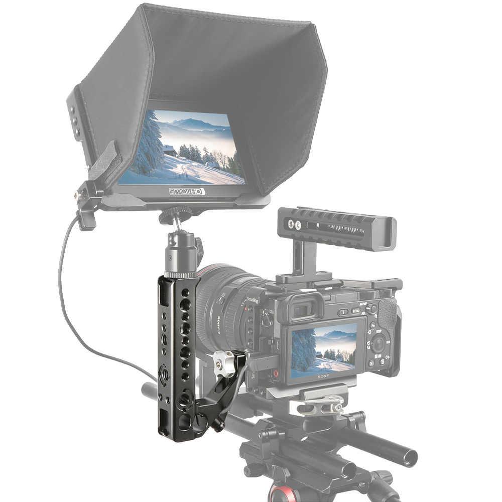 Smallrig frio sapato adaptador alça para montar câmeras dslr e gaiolas com parafusos de polegar + 15 mm haste braçadeira universal handgrip-2094