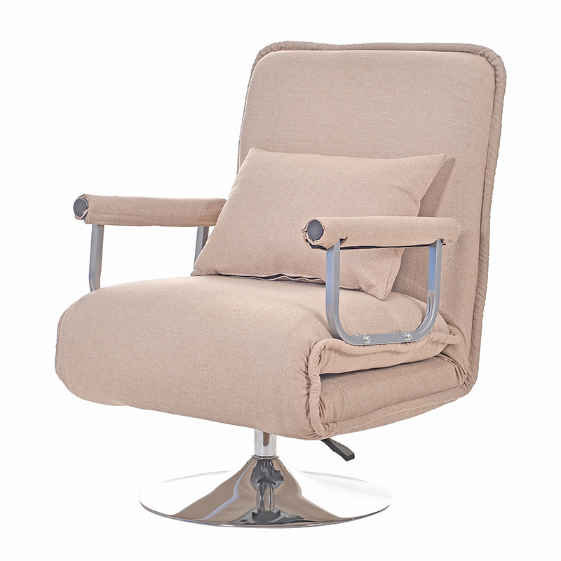 Convertible Sofa Bed 5 Position Folding Arm Chair Sleeper Leisure Recliner Lounge Couch Living Room Furniture Futon Armchair