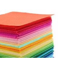 40 stks Non-woven Vilt Thuis DIY Materiaal Polyester Doek Felts Voor Naaien Poppen Ambachten DIY Nieuwjaar Gift 45*45 cm