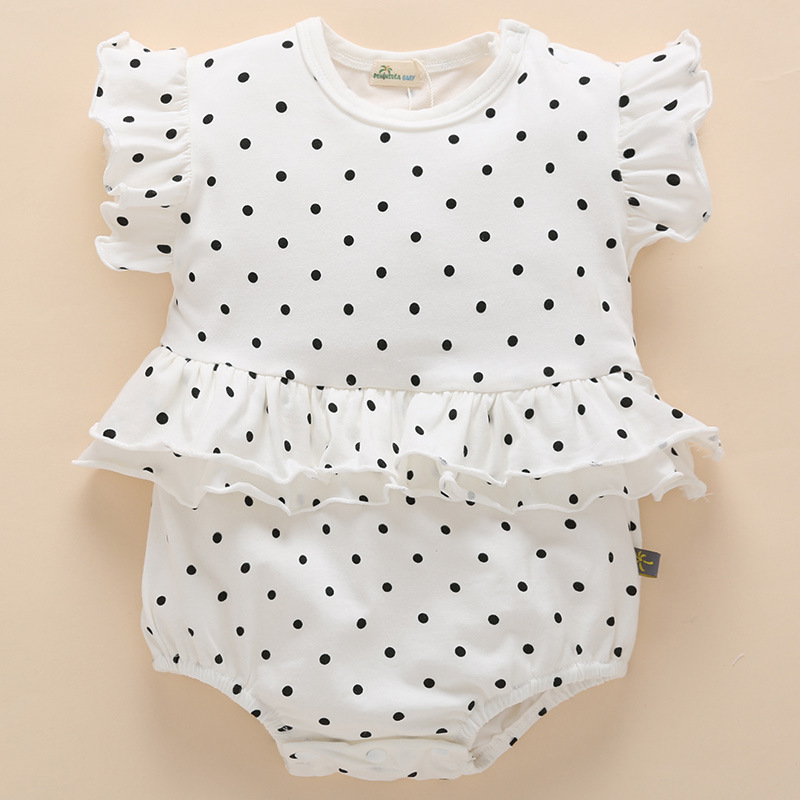 085245373625b 2018 Baby underwear Climbing Girl Clothes Summer Direct Cute 3 Months  Princess Newborn Cotton Rompers baby clothes -in Rompers from Mother   Kids  on ...