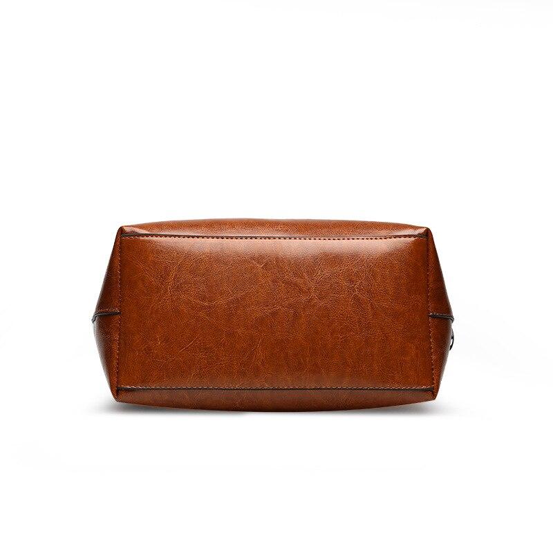 Bolsa Tracolla Secchio Il Delle Signore L62 Donne In Bag Borsa Donna Di Spalla Nero borgogna Con A Modo brown Shopping Grande Capacità Pelle Borse xRURrO0wq