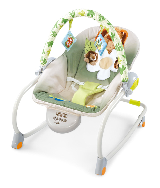 3c76f0994f2b Free shipping multifunctional musical rocking chair baby bouncer ...