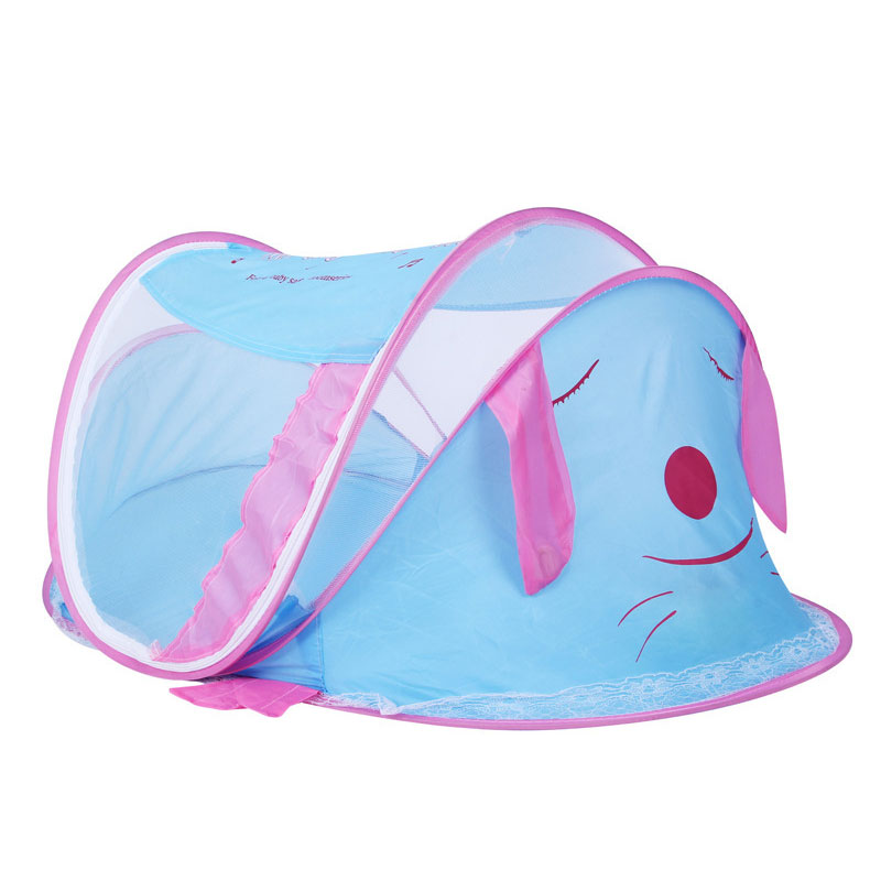 Lovely Portable Cartoon Animal Dog Kids Toys Tent Children Kids Indoor Outdoor Playing House Folding Baby Toy Tent Child Gifts