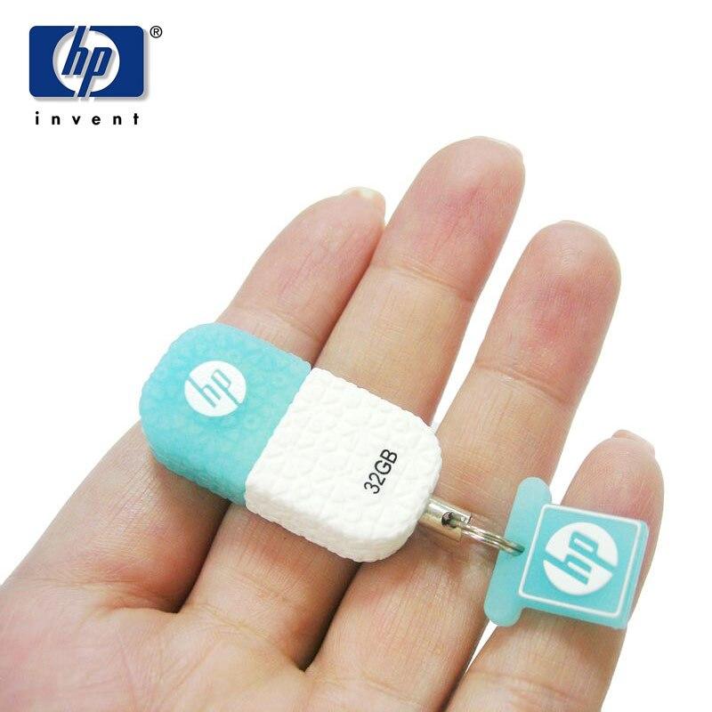 HP USB-Flash-Laufwerk mit 64 GB-Stick (32 GB) Mini-Pen-Laufwerk v175w - Externer Speicher