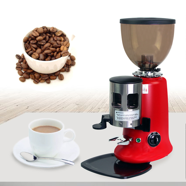 kitchen aid coffee maker 220v commercial heavy duty new 350w high power burr coffee grinder electric - Kitchen Aid Coffee Maker