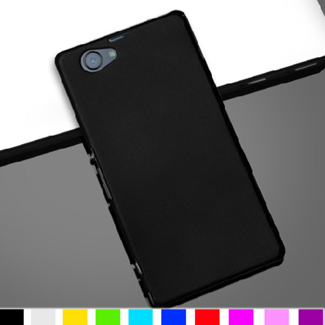 pretty nice 1be7d 67323 US $2.99 |Fashion High Technology Material Hard Case For Sony Xperia Z1  compact Z1 mini M51W Case BUltra Thin Back Matte Skin Cover Cases-in ...