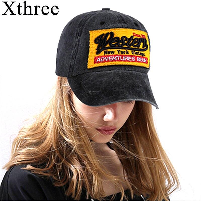 Xthree fashion men's baseball cap fitted cap bone snapback hat gorra de baseball hats for women
