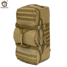 Military Tactical Backpack 60L Outdoor Camping Large Capacity Sport Backpacks Men's Hiking Shoulder Bag Rucksack Travel Backpack 60l outdoor camping large capacity sport backpacks shoulder bag hiking backpack athletic sport men travel bag tactical backpack