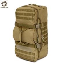 Военный тактический рюкзак 60л Открытый Кемпинг большой емкости Спортивные рюкзаки мужские походные сумки на плечо рюкзак путешествия рюкзак