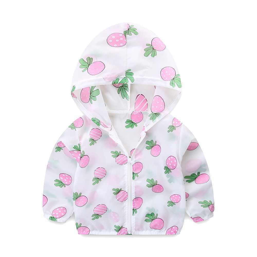 קיץ ילדים חדשים קרם הגנה אופנה כוכב מודפס תינוקת חוף ללבוש תינוק ילד מיזוג אוויר חולצה