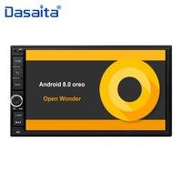 7 HD цифровой емкостный сенсорный экран универсальный 2 din Android 8,0 Octa Core 4G RAM 32G ROM для Nissan аудиомагнитолы автомобильные стерео