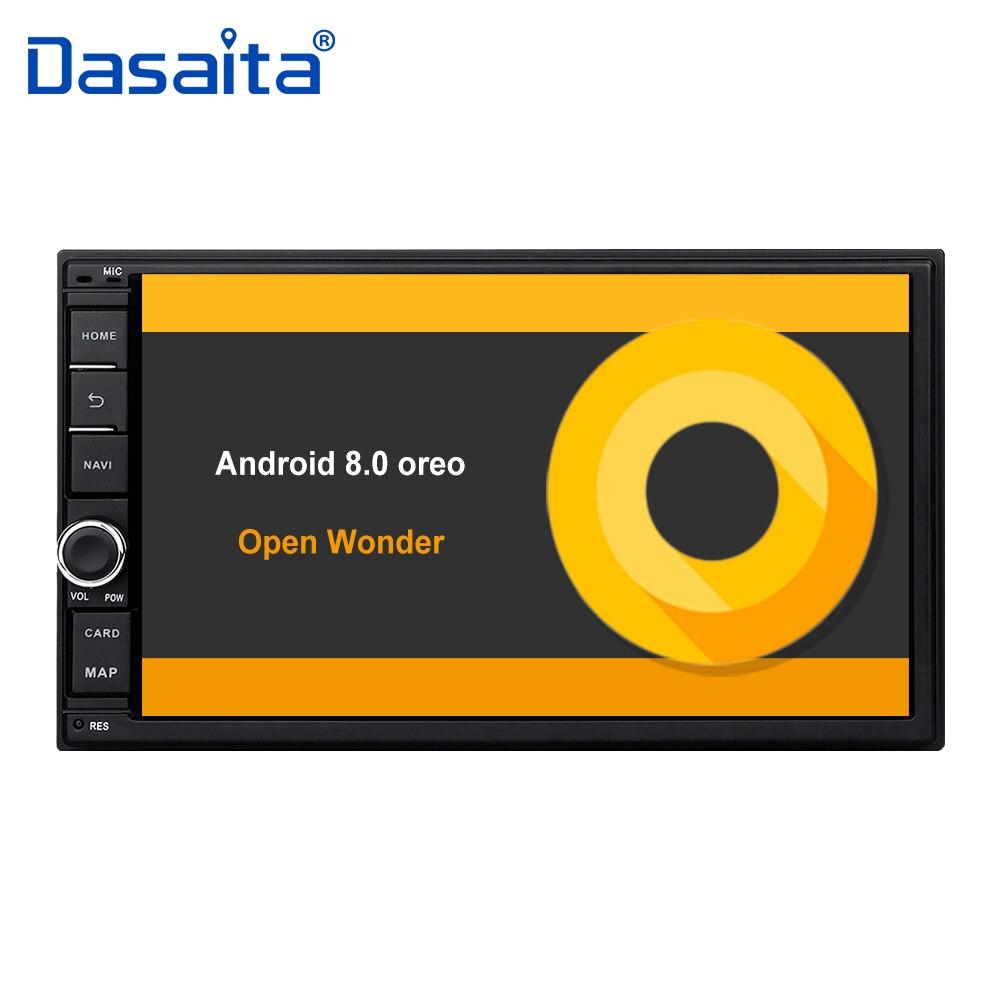 7 HD Numérique Écran Tactile Capacitif Universel 2 din Android 8.0 Octa Core 4g RAM 32g ROM pour Nissan voiture audio stéréo