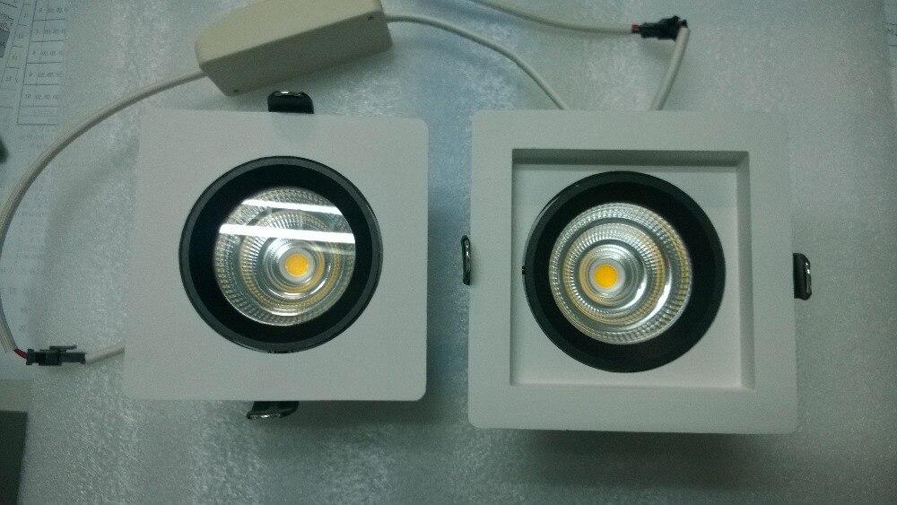 9 Вт, 15 Вт, 25 Вт 40 Вт высокое качество удара imp светодиодный встраиваемый площади downlight комплект используется в роскошных вилл, дома, квартиры, ...