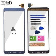 Pantalla táctil de cristal táctil para teléfono móvil pantalla táctil de 5,5 pulgadas para Leagoo M9, Panel digitalizador de cristal, Sensor de lente, herramientas adhesivas gratis