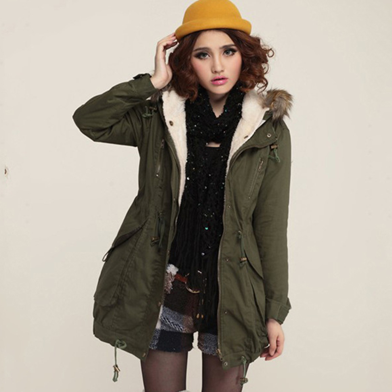 Fashion European Coat Disassembly Ladies Coats Hipster ...
