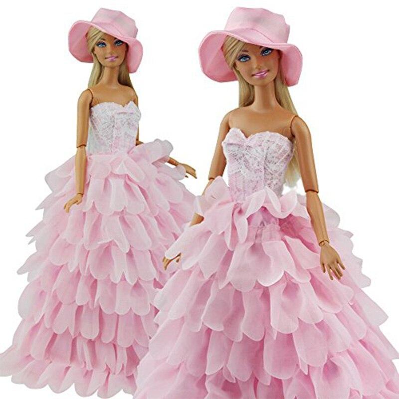 Rctown princesa noche partido vestir desgaste vestido para Barbie ...