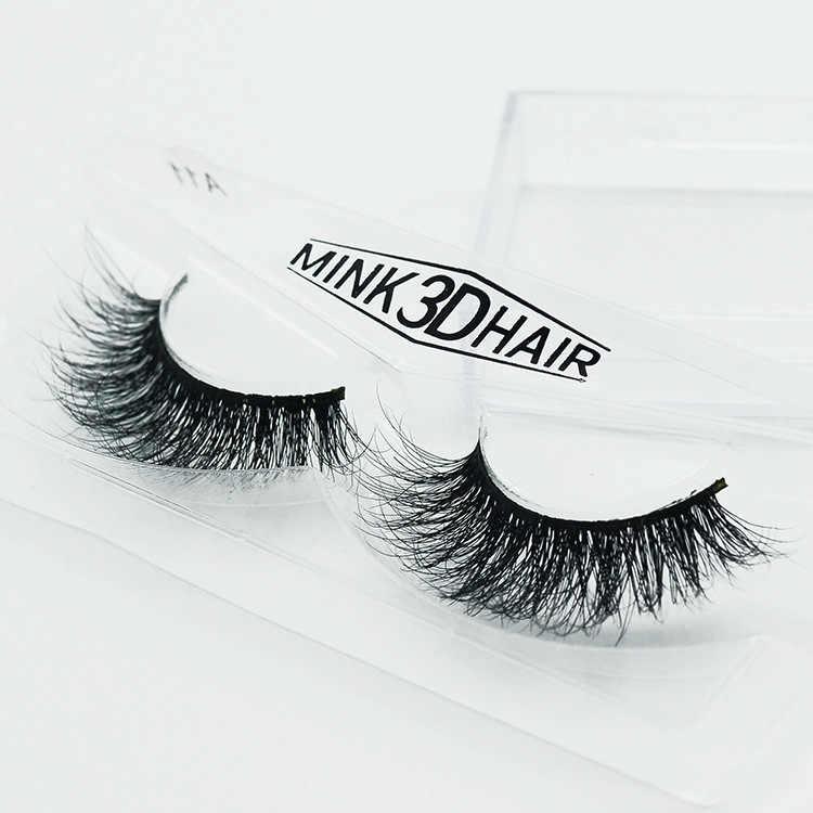 cf7d2f3fcc5 ... 100% Human Hair 3D Cross Thick False Eye Lashes Extension Makeup  Natural Long Fashion Pro ...