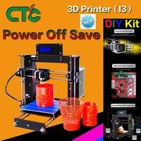 CTC 3D Printer Frame High Precision Impressora DIY Kit i3 Upgradest High Precision Reprap Prusa 3d Drucker