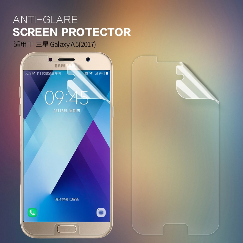 Nillkin Matte Clear front back film for Samsung A5 2017 screen protector  for Samsung Galaxy A5 2017 thin protective film