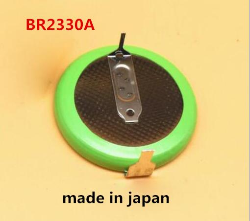 HOT NEW BR2330A BR2330 2330 3V lithium High temperature resistant button Li-ion battery leg welding foot feet image