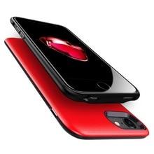 Protable 2500 כוח בנק פולימר ליתיום יון סוללה חזרה קליפ טעינת טלפון מקרה כוח בנק סוללה עבור iPhone 6/ 6 s/7/8