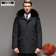 VSD Winter -35 Degrees Jackets Mens Warm Down Coat Parka Thickening Ra