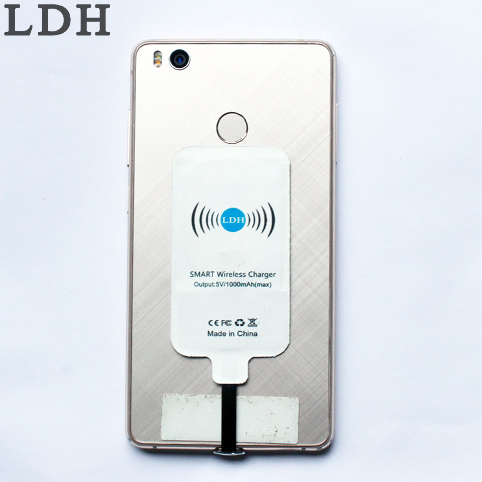 the best attitude 1a029 17839 LDH Qi Wireless Charger Receiver USB Type-C Charging Adapter For huawei p10  Plus P9 Mate 9 nova G9 Nexus 6P Maimang 5