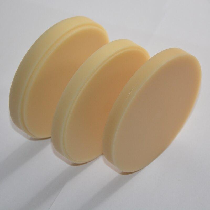 materiais PMMA dental blocos para moagem CAD CAM