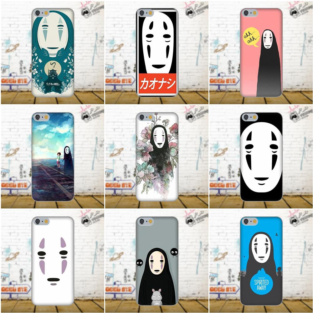 Bixedx For Apple iPhone 4 4S 5 5C SE 6 6S 7 8 Plus X Galaxy Grand Core II Prime Alpha Soft No Face Spirited Away