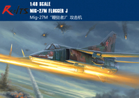 RealTS Trumpeter 05803 1/48 Scale Russian Mig 27M Flogger J Fighter Model Aircraft Kits