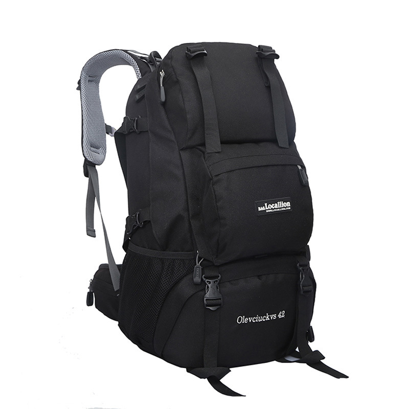 все цены на 42L big capacity bag travel backpack backpack schoolbag climb knapsack  backpacks trip packsack P69 онлайн