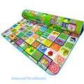 Большой размер пены игровой коврик детская комната ковер коврики для ребенка автомобили дети ковер младенческой с мешком подарков рождественский подарок коврик для дети