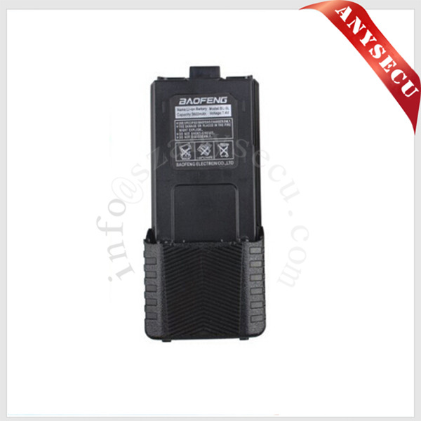 HOT SALE BAOFENG Li-ion Battery uv-5r 3800mAh blac...