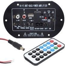 30 Вт Высокой Мощности Bluetooth Автомобильный Сабвуфер Hi-Fi Бас Усилитель Доска TF USB 12 В/24 В/220 В Бесплатная Доставка с Номером Следа 12003141
