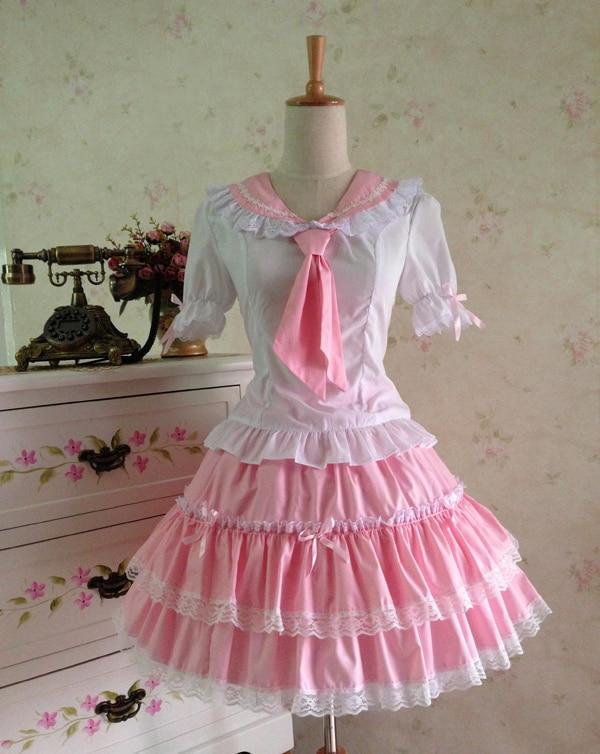Poletna obleka princesa cosplay kostum dekle lolita obleka - Ženska oblačila - Fotografija 2