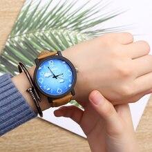 Venta caliente mujeres pulsera reloj de cuarzo mujeres relojes reloj de  moda señoras reloj impermeable reloj Vintage para niñas . 9dd0ad027444
