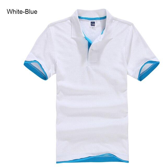 URSPORTTECH Men's Polo Shirt For Men Desiger Polos Men Cotton Short Sleeve shirt Clothes jerseys golftennis Plus Size XS- XXXL 4