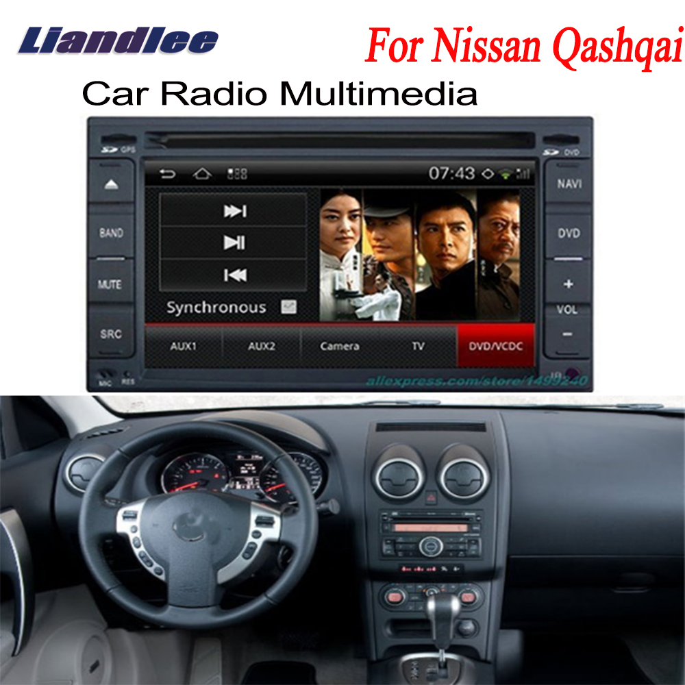 liandlee 2 din car android gps navi navigation maps radio for nissan qashqai 2008 2012 cd dvd. Black Bedroom Furniture Sets. Home Design Ideas