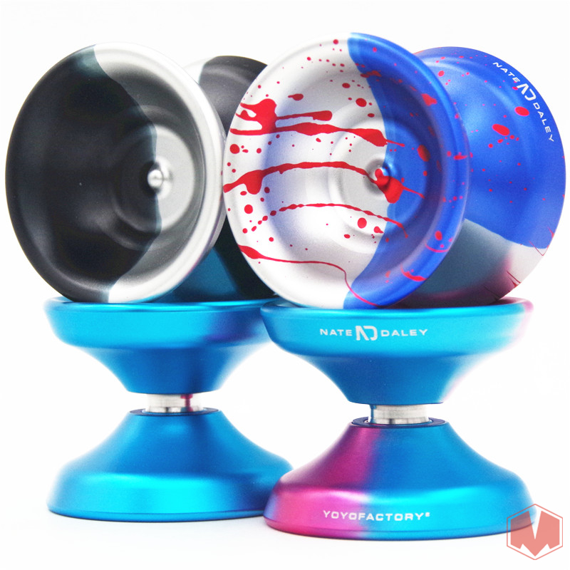 2018 New yoyofactory ND Daley YYF YOYO Metal YOYO for professional yoyo 1A 3A 5A