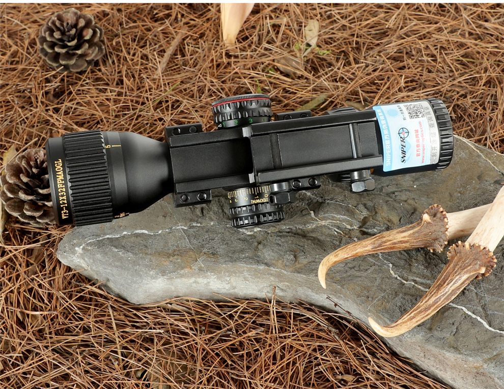 Sniper vt 3-12x32 ffp caça visão óptica