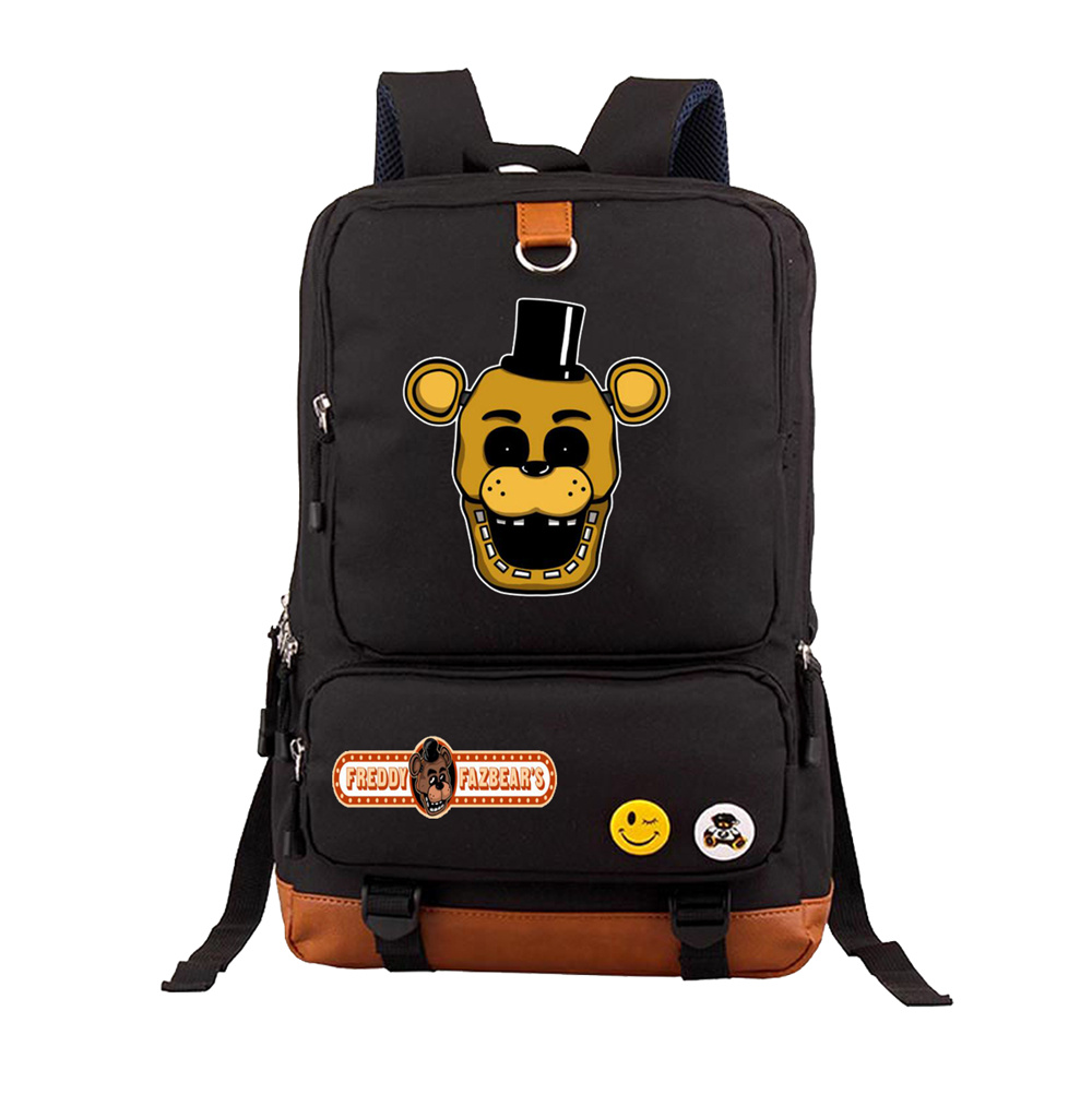 anime Five Nights at Freddys Backpack teenagers Student School Bags book bag travel Shoulder Laptop Bag Unisex Travel Knapsackanime Five Nights at Freddys Backpack teenagers Student School Bags book bag travel Shoulder Laptop Bag Unisex Travel Knapsack