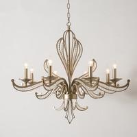 Candelabro led moderno para sala de estar dormitorio comedor hierro lustre cristal candelabro hogar lámpara de iluminación