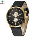 Marca de fábrica famosa de Negocios Hombres Reloj Patek Xfcs Moda Reloj de Lujo A Estrenar de Reloj de Cuarzo Ocasional Del Reloj de Los Hombres Waches Hombres de Oro reloj
