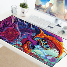 Gaming Mouse Pad CSGO Mouse pads XXL Large Locking Edge Rubber Anti-slip Hyper Beast Mousepad Game CS GO Speed Mice Play Mat Pad