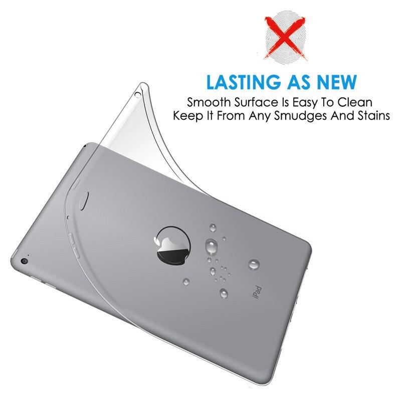 Apple iPad Air2 Case Ultra-nazik Zərbəyə Qarşı İncə Silikon - Planşet aksesuarları - Fotoqrafiya 5